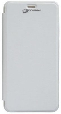 YGS Flip Cover for Micromax BOLT A67 White available at Flipkart for Rs.240