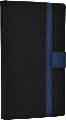Jojo Flip Cover for iBall Andi 5h Quadro Black, Dark Blue available at Flipkart for Rs.690
