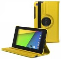 HOKO Flip Cover For New Google Nexus 7 FHD Tablet 2nd Gen - Yellow