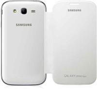 Rolltone Flip Cover For Samsung Galaxy Grand Neo-i9060 (White)