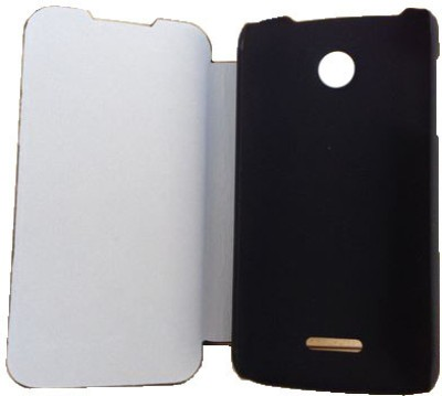 Newtronics Flip Cover for Lenovo A390 Black available at Flipkart for Rs.625