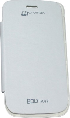 Evergreen Flip Cover for Micromax Bolt A47 available at Flipkart for Rs.159