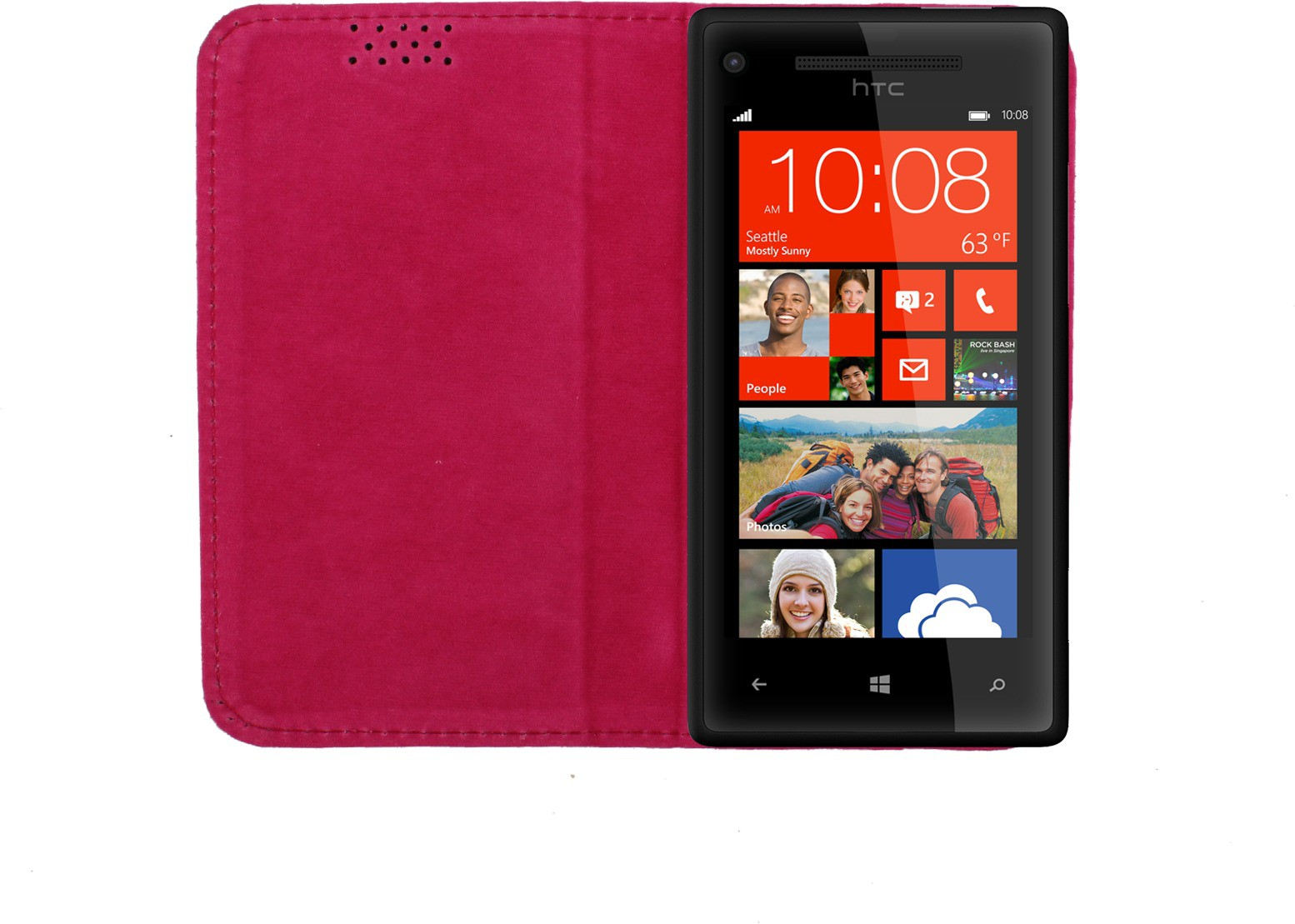 Dooda Flip Cover for HTC Windows Phone 8X