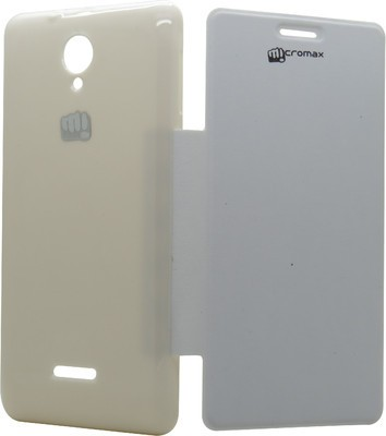 PBH Flip Cover for Micromax A76 White available at Flipkart for Rs.149