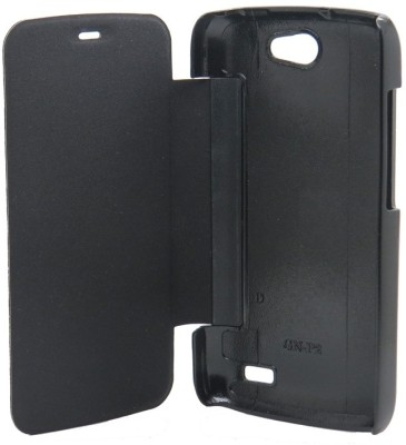 Brawnie Flip Cover for Gionee Pioneer P3 Black available at Flipkart for Rs.177