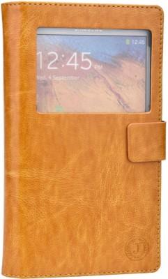Jojo Flip Cover for Xolo Q900 Light Brown available at Flipkart for Rs.690