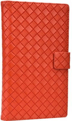 Jojo Flip Cover for iBall Andi 5h Quadro Orange available at Flipkart for Rs.690