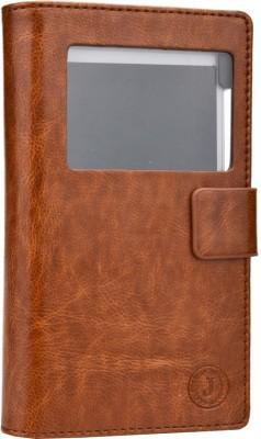 Jojo Flip Cover for Xolo Q900 Dark Brown available at Flipkart for Rs.690
