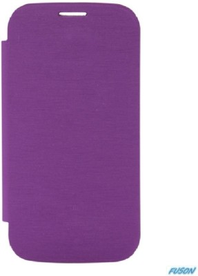 Fuson Flip Cover for Xolo A800 Purple available at Flipkart for Rs.499