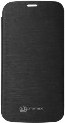 YGC Flip Cover for Micromax Canvas A76 available at Flipkart for Rs.199