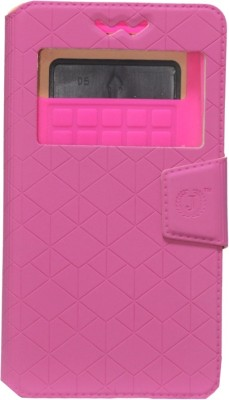 Jojo Flip Cover for Micromax Superfone A100 Canvas available at Flipkart for Rs.590
