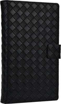 Jojo Flip Cover for Karbonn S1 Titanium Black available at Flipkart for Rs.690