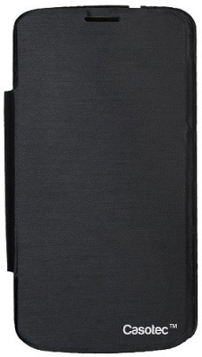 Casotec Flip Cover for Gionee Pioneer P3 Black available at Flipkart for Rs.199