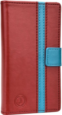 Jojo Flip Cover for iBall Andi 5h Quadro Red, Light Blue available at Flipkart for Rs.690