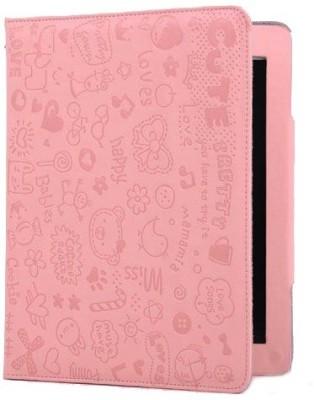 KolorFish Flip Cover for Apple iPad 2, Apple iPad 3, Apple iPad 4
