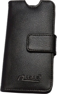 nCase Flip Cover for Huawei Honor 6 H60-L04 Black at flipkart