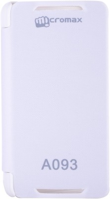 dFab Flip Cover for Micromax Canvas Fire A093