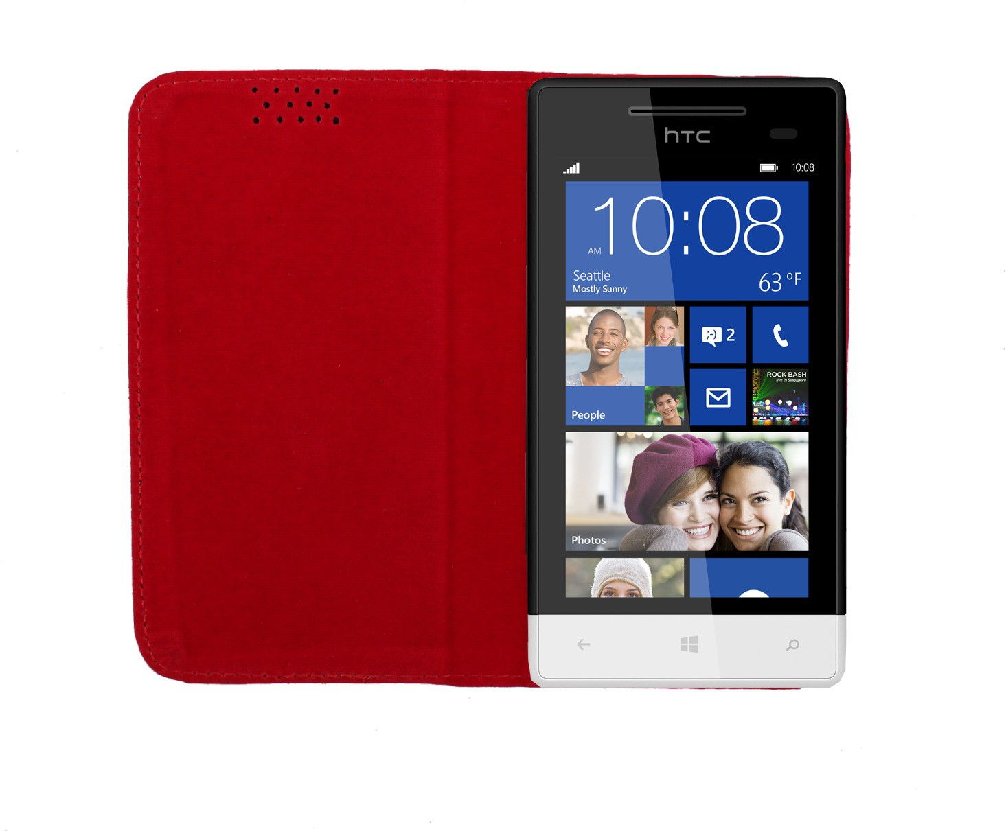 Dooda Flip Cover for HTC Window Phone 8S