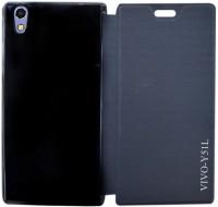 huge discount a5723 2d934 Coverage Flip Cover for Vivo Y51L (Black)