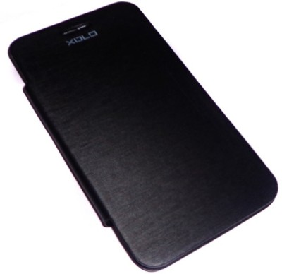 Brawnie Flip Cover for Xolo Q700 Black