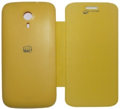 YGS Flip Cover for Micromax A116 Canvas HD available at Flipkart for Rs.149