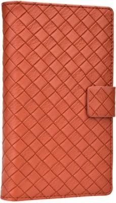 Jojo Flip Cover for Karbonn S1 Titanium Brown available at Flipkart for Rs.690