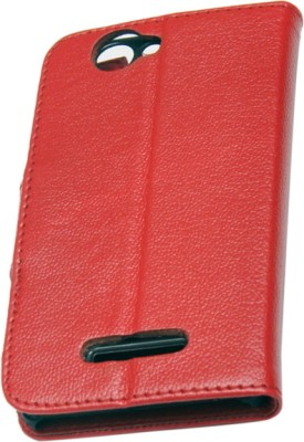 nCase Flip Cover for XOLO 500S Red