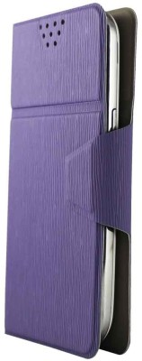 Molife Flip Cover for Spice Mobile Smart Flo Mettle 5X Light Purple available at Flipkart for Rs.499