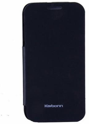 G4U Flip Cover for Karbonn A50 Black available at Flipkart for Rs.200