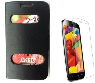 YGS Flip Cover for Micromax A116 Canvas HD