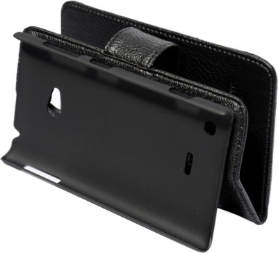 nCase Flip Cover for Nokia Lumia 720 Black