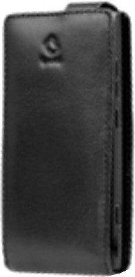 Capdase WCNK800-F001 Leather Filp Jacket Flip Top Case with Detachable Belt Clip for Nokia Lumia 800