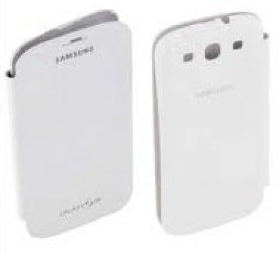 Buy Samsung EFC-1G6FWECINU Flip Cover for Galaxy S3 - White: Cases Covers