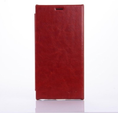 KLD Flip Cover for Lenovo K900 Brown