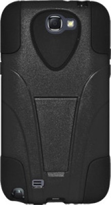 Amzer Back Cover for Samsung Galaxy Note 2 Black & Black