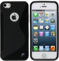 S Case Back Cover For Apple IPhone 5s (Black)