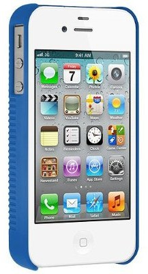 Buy Amzer 93316 Shellster for iPhone 4 / 4S - Blue: Cases Covers