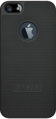 Amzer Back Cover for Apple iPhone 5 / 5S Black at flipkart