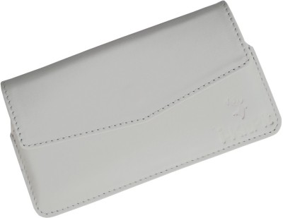 i-KitPit Pouch for Karbonn A30 White