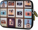 Amzer Pouch For Apple IPad Air, Samsung Galaxy Tab 3 10.1 P5210, Samsung Galaxy Note 800 - White & Brown