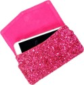 Dooda Pouch for Micromax Canvas Viva A72 (Pink)