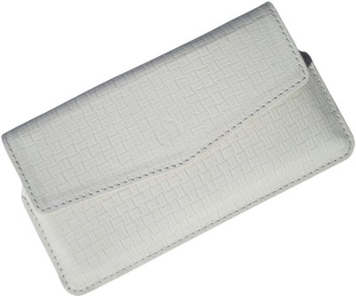 i-KitPit Pouch for Blackberry 9720 White