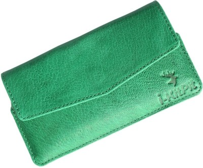 i-KitPit Pouch for Intex Aqua i7 Green