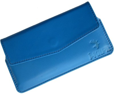 i-KitPit Pouch for Karbonn A5i Blue