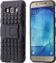 Wellmart Shock Proof Case For Samsung Galaxy A8 (Black)