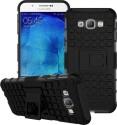 Cubix Shock Proof Case For Samsung Galaxy A8 (Black)