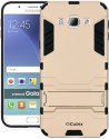 Cubix Shock Proof Case For Samsung Galaxy A8 (Gold)