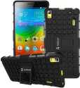 Tarkan Shock Proof Case For Lenovo A7000 / K3 Note (Jet Black)