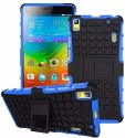 Tarkan Shock Proof Case For Lenovo A7000 / K3 Note (Azure Blue)