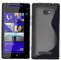 S-Line Case For HTC Windows Phone 8S - Black